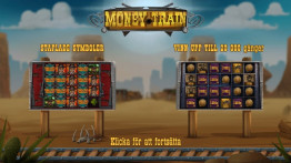 Money Train Startskärm
