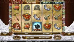 Hall of Gods Freespins
