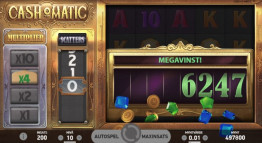 Cash-O-Matic Storvinst!
