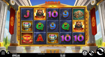 Midas Golden Touch Casinospel
