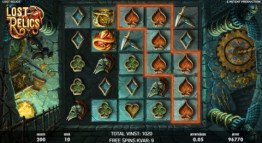 Lost Relics Freespins
