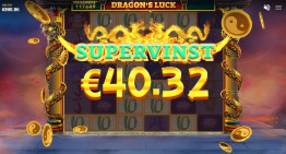 Dragon's Luck Supervinst!