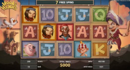 Hook's Heroes Freespins