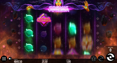 Cosmic Voyager Free Spins