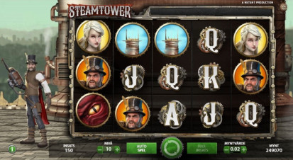 Steam Tower Slotsspel