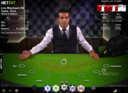 NetEnt Live Blackjack